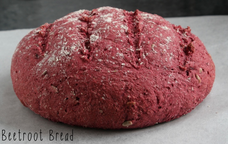 Baby friendly Beetroot Bread for Babies and delicious for the whole family