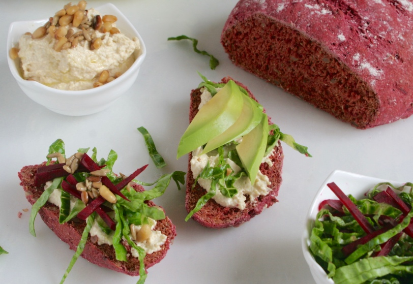 Baby friendly Beetroot Bread, delicious for the whole family