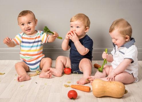 Babies love Veg