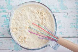 Dairy free Vegan Baby Safe bircher recipe for the family