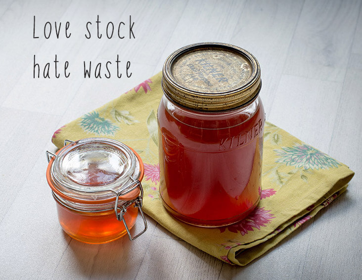 Love stock hate waste : a salt free baby friendly healthy vegan vegetable stock made from old veg scraps!