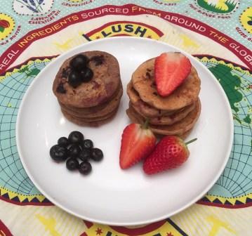 baby vegan pancakes
